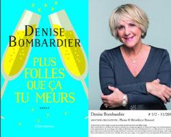 Denise Bombardier à LYON le 10 mai