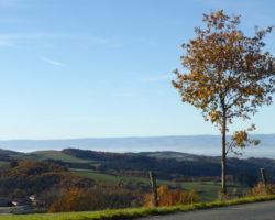 Les Balades d'Yves : Saint-Just-la-Pendue dans le Forez