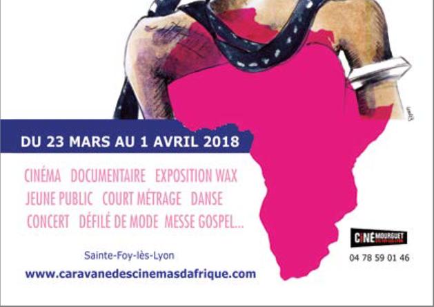Elle revient dans toute la région : LA CARAVANE des CINÉMAS d'AFRIQUE :  Du 23 mars au 1er avril