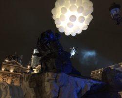 Inauguration de la Fontaine Bartholdi à Lyon : le réveil d' Anphitrite !
