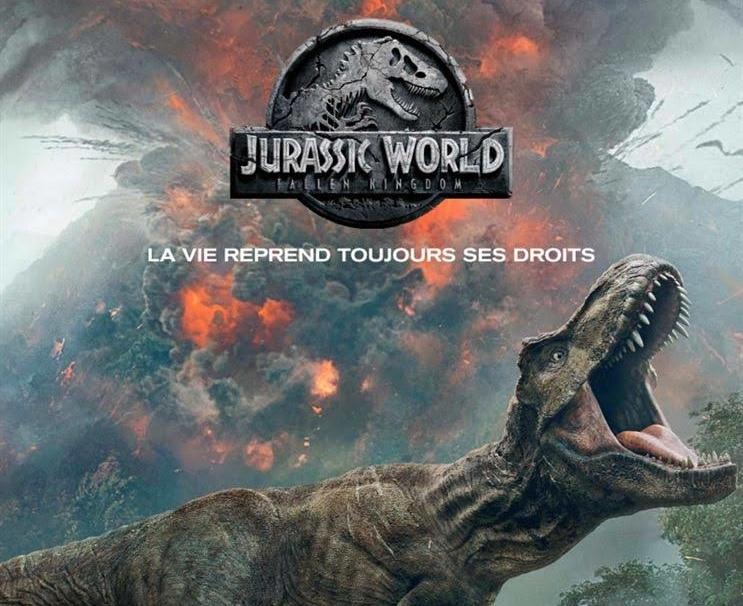 Le ciné hebdo de Charles – Jurassic World : Kingdom Fallen