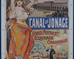 PREMIÈRE USINE D'ÉLECTRICITÉ À LYON – CANAL DE JONAGE – USINE DE CUSSET – BARRAGE DE JONS