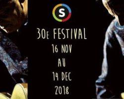 30ème festival « Les GuitareS », du 16 novembre au 14 décembre 2018