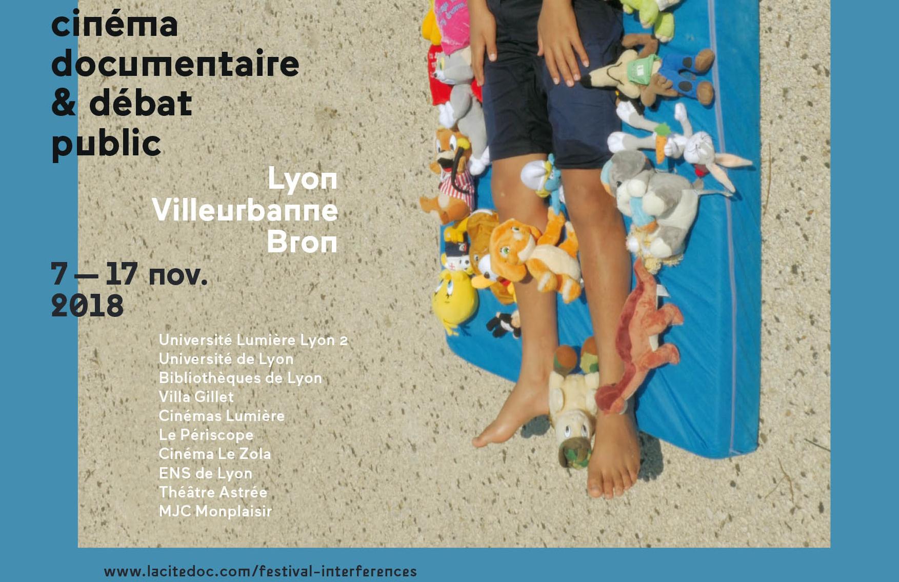 FESTIVAL INTERFÉRENCES, du 7 au 17 novembre :  Lyon, Bron, Villeurbanne