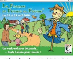 DE FERME EN FERME Loire-Rhône, les 27 et 28 avril 2019