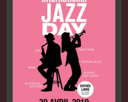 C'EST LE « JAZZ DAY »  LE 30 AVRIL 2019