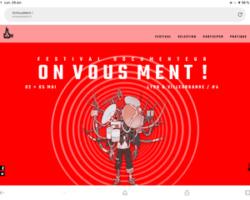 4ème édition du festival «  On Vous Ment ! »