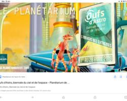 PLANÉTARIUM DE VAULX EN VELIN :  LE RENDEZ-VOUS DES OUFS d'ASTRO