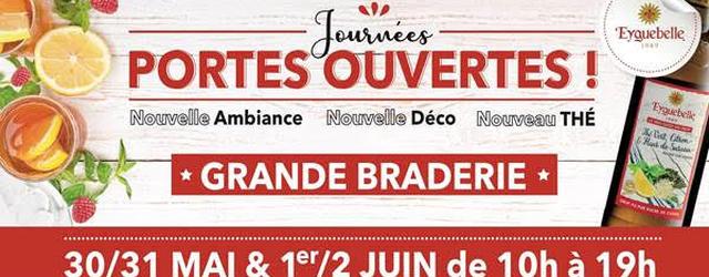 Journées Portes Ouvertes au DOMAINE EYGUEBELLE, à Valaurie en Drôme Provencale.