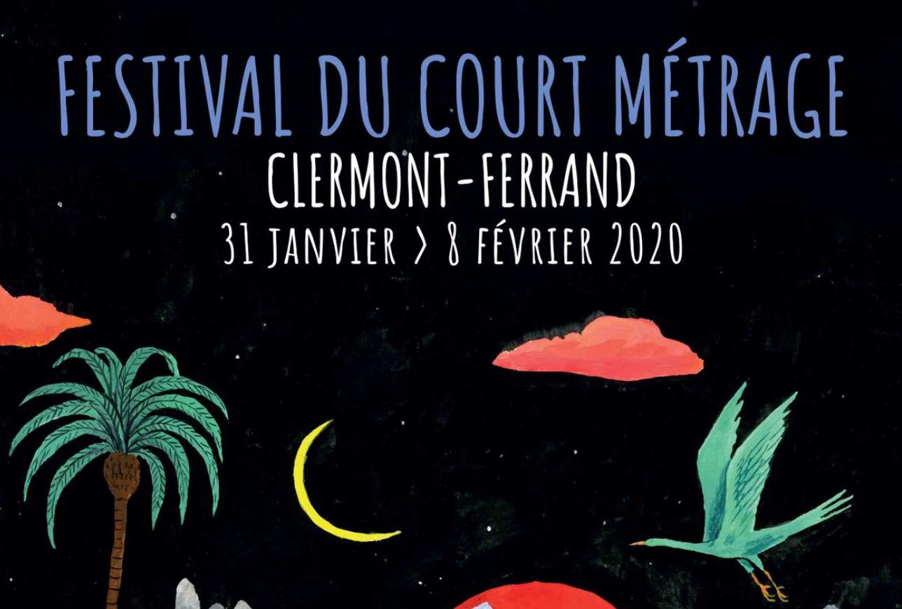 Un cadeau pour les amateurs de films courts : L'AFFICHE DU PROCHAIN FESTIVAL DE CLERMONT !
