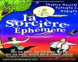 La Sorcière Éphémère revient poser son chaudron au Théâtre Comédie Odéon à LYON !<p class='ctp-wud-title' style= 'font-family:inherit; font-size: 12px; line-height: 13px; margin: 0px; margin-top: 4px;'><span class='wudicon wudicon-category' style='font-size: 12px;'>  </span><a href=