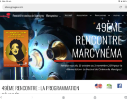 UN FESTIVAL CINEMA EXTRAORDINAIRE : MARCYNEMA PRÉSENTE LES 49eme RENCONTRES DE MARCIGNY !