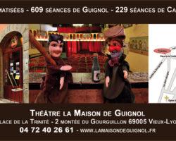 Guignol vous accueille à Lyon depuis 1965 dans son Théâtre