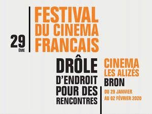 «DRÔLE D'ENDROIT POUR DES RENCONTRES» , l'incontournable festival de cinéma de Bron, du 29 janvier au 2 février<p class='ctp-wud-title' style= 'font-family:inherit; font-size: 12px; line-height: 13px; margin: 0px; margin-top: 4px;'><span class='wudicon wudicon-category' style='font-size: 12px;'>  </span><a href=