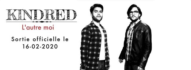 KINDRED , un duo fraternel qui vous accueille dans son univers teinté de folk, Pop et Rock