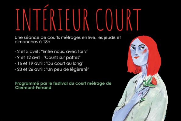 UNE AUTRE INITIATIVE DU FESTIVAL DE CLERMONT- FERRAND POUR VOUS AIDER À BIEN CONFINER !