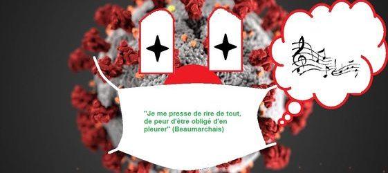 Vidéo d'un Ardéchois : Chanson parodie «le coronavirus est en France»