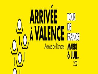 Le Tour de France de retour à Valence